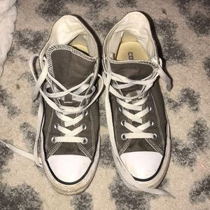 women's grey converse